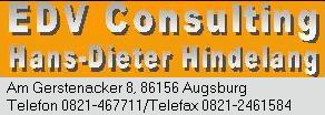 Elektronische Datenverarbeitung Augsburg, EDV Consulting, Hardware Serviceleistung Augsburg